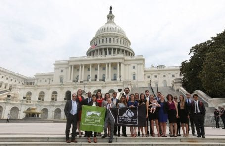 Climbers Head to D.C. to Advocate for Environmental Protection