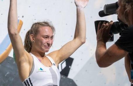 Garnbret Wins Bouldering Gold at World Championships