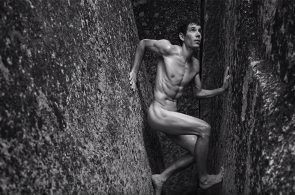 Alex Honnold in the ESPN Body Issue - Behind the scenes