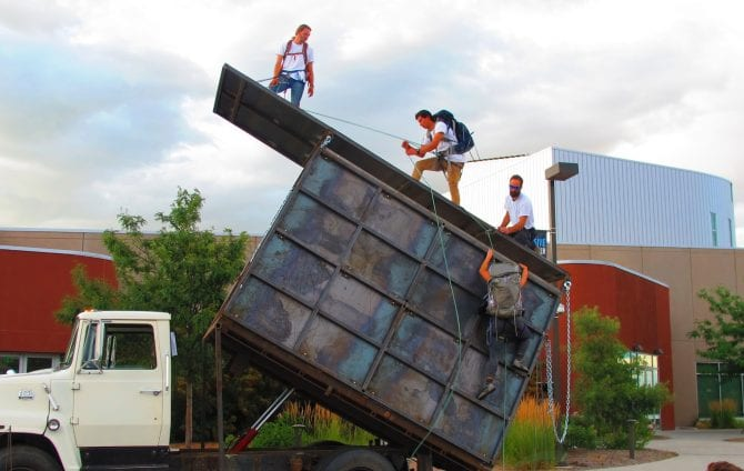 Climbing Takes on the Theater: Durango Dirtbags Win Award for Their Play