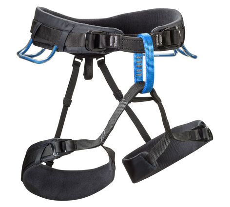 Black Diamond Momentum DS Harness is comfy at hanging belays