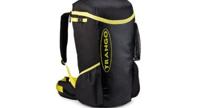 Trango Crag Pack in black and yellow