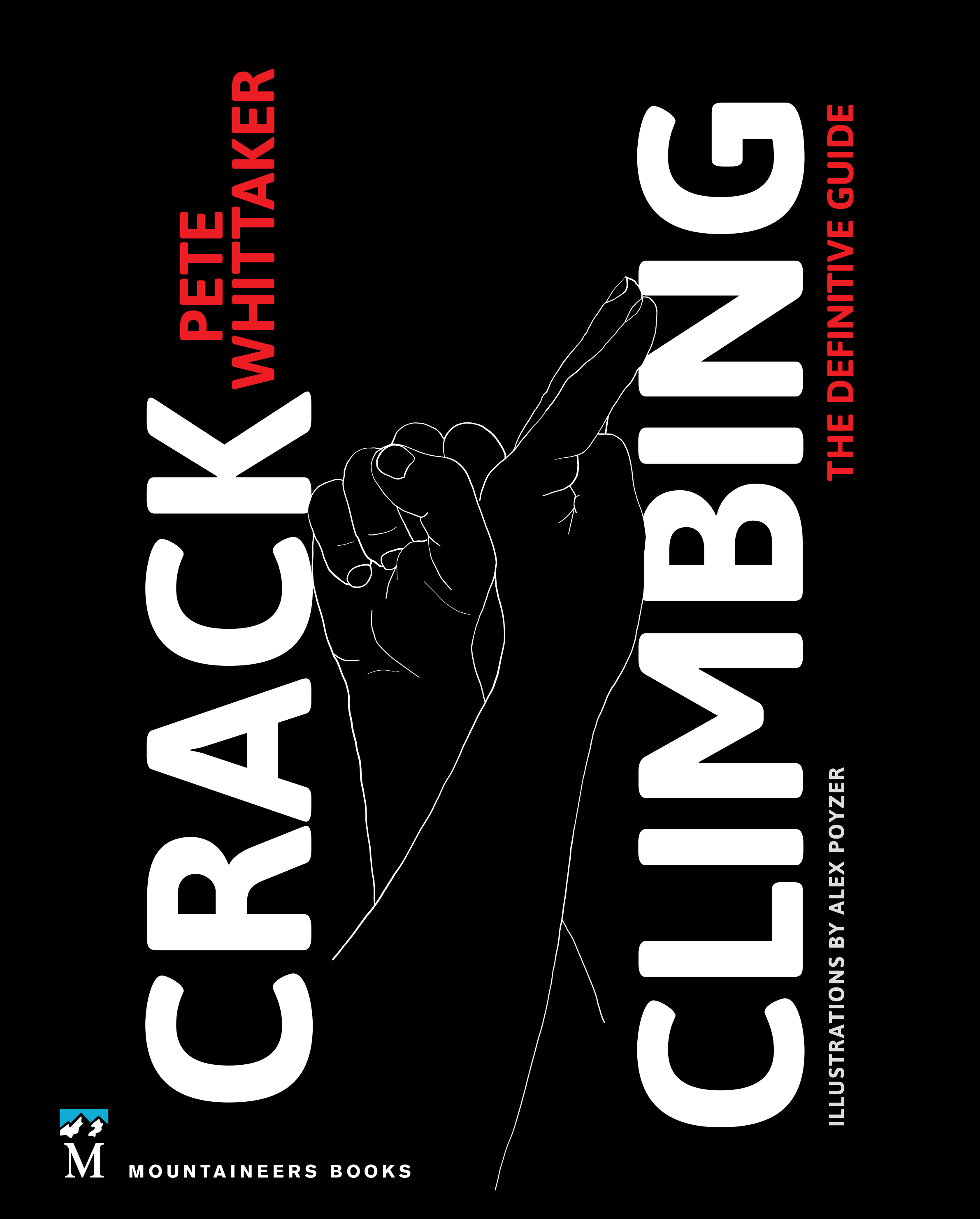 Pete Whittaker's new book on crack climbing technique.