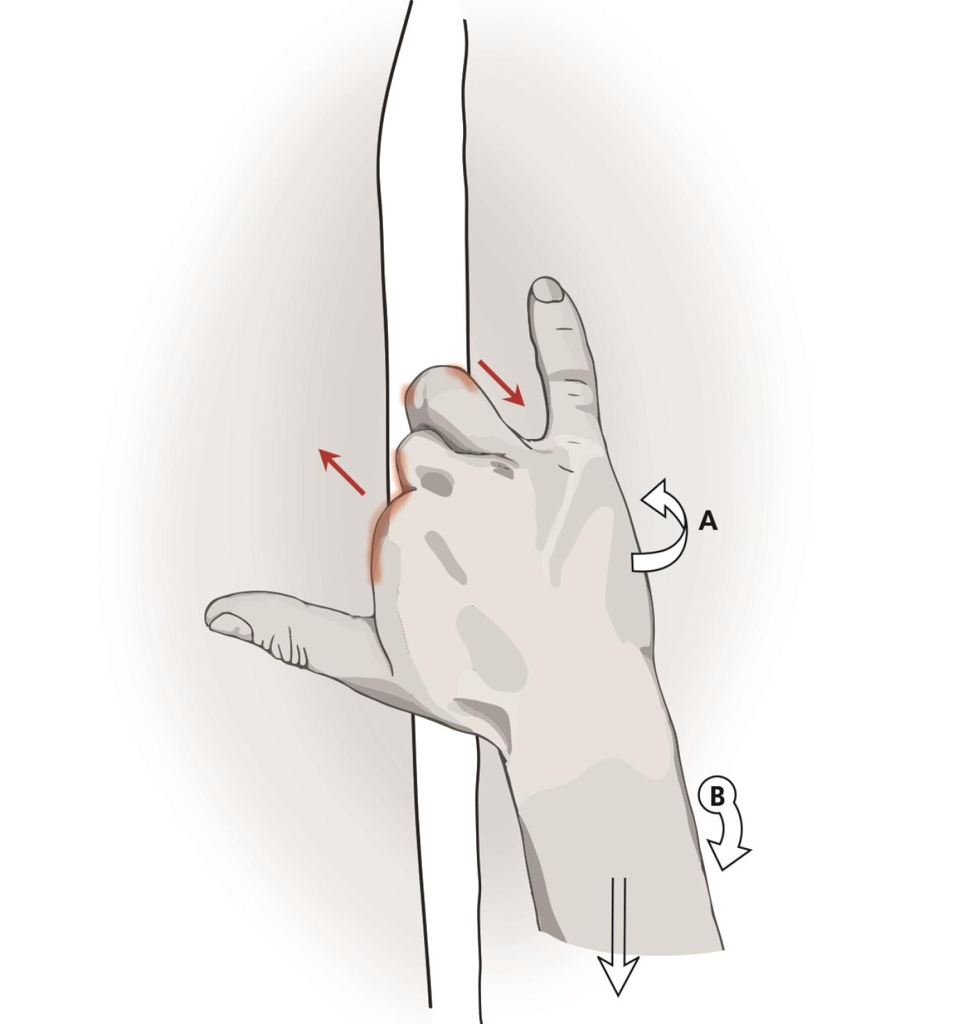 hand techniques in finger cracks locker finger cracks rock and ice hand techniques in finger cracks