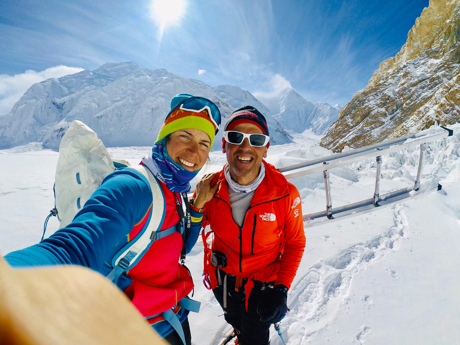 Interview: Simone Moro on Expedition-Ending Accident on Gasherbrum I with Tamara Lunger