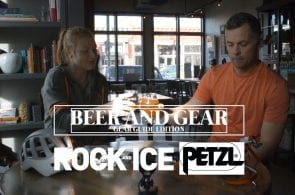 Beer and Gear, Ep. 16 | Petzl - Grigri, Meteor Helmet, Dart Crampons, and Swift RL Headlamp