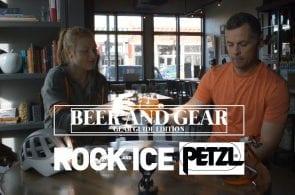 Beer and Gear, Ep. 16 | Petzl - Grigri, Meteor Helmet, Dart Crampons, and Swift RL Headlamp