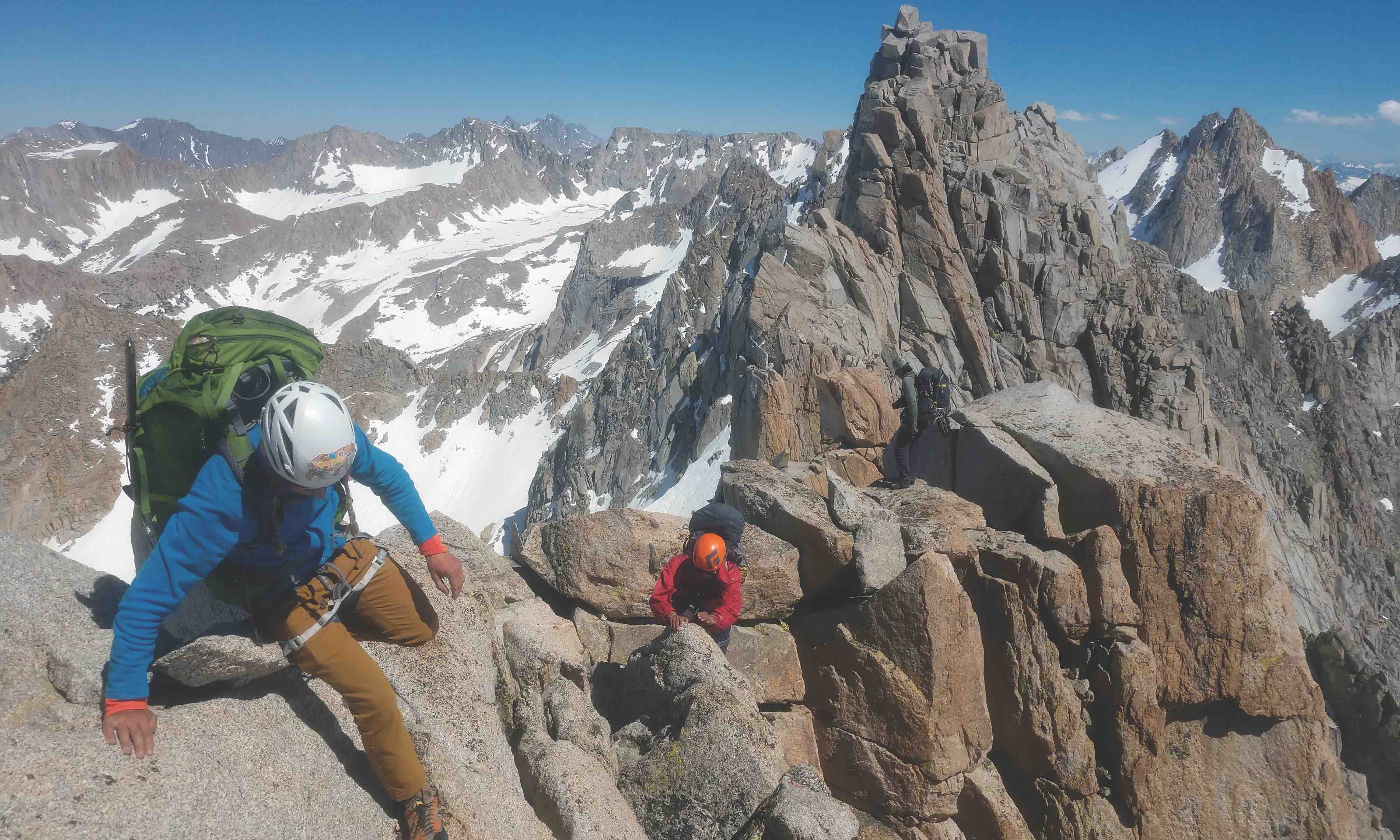 Accident Prevention: Old Tat Breaks On Evolution Traverse - Rock and Ice