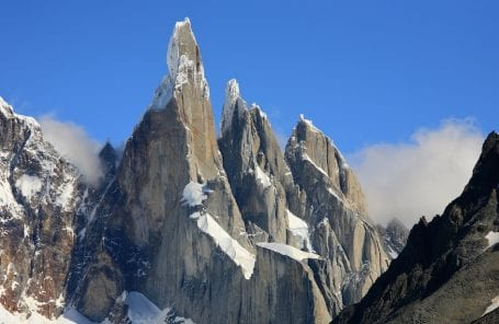Fabian Buhl Climbs Cerro Torre and Paraglides Off Summit
