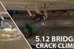 Climbing A Bridge Hand Crack | Urban First Ascent with Robbie Phillips