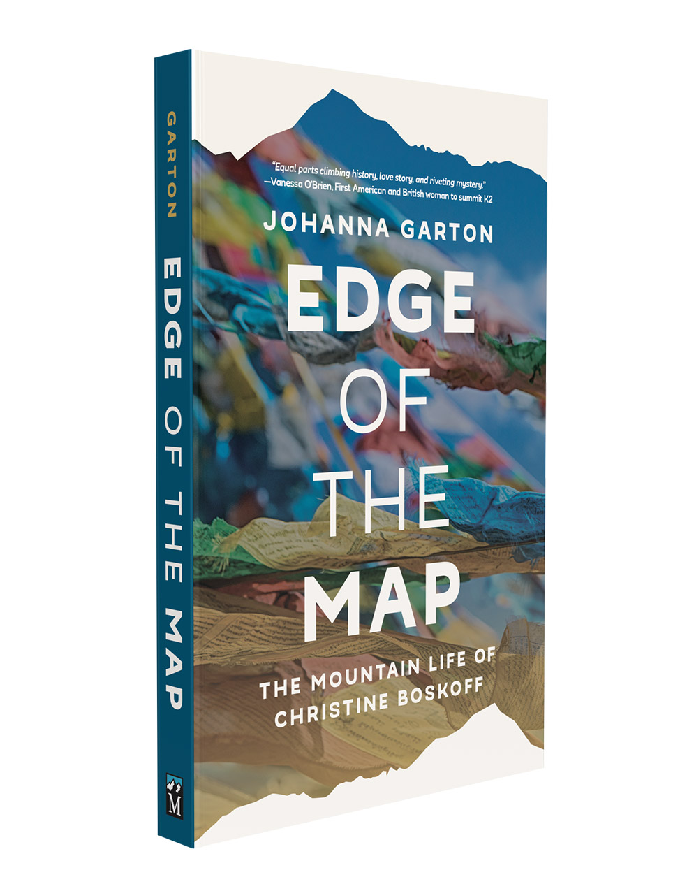 """Edge of the Map"" is the biography of Christine Boskoff."