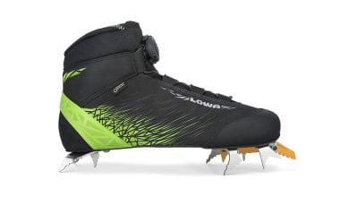 Lowa Ice Rocket GTX mixed climbing shoe.