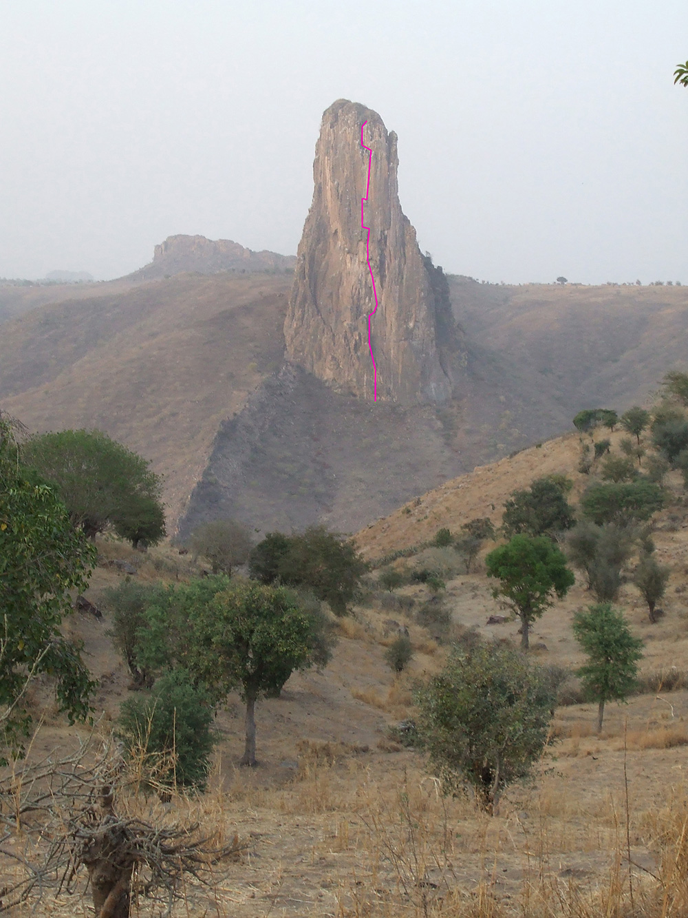 If you want to go climbing in Cameroon, check out Rhumsiki Tower.