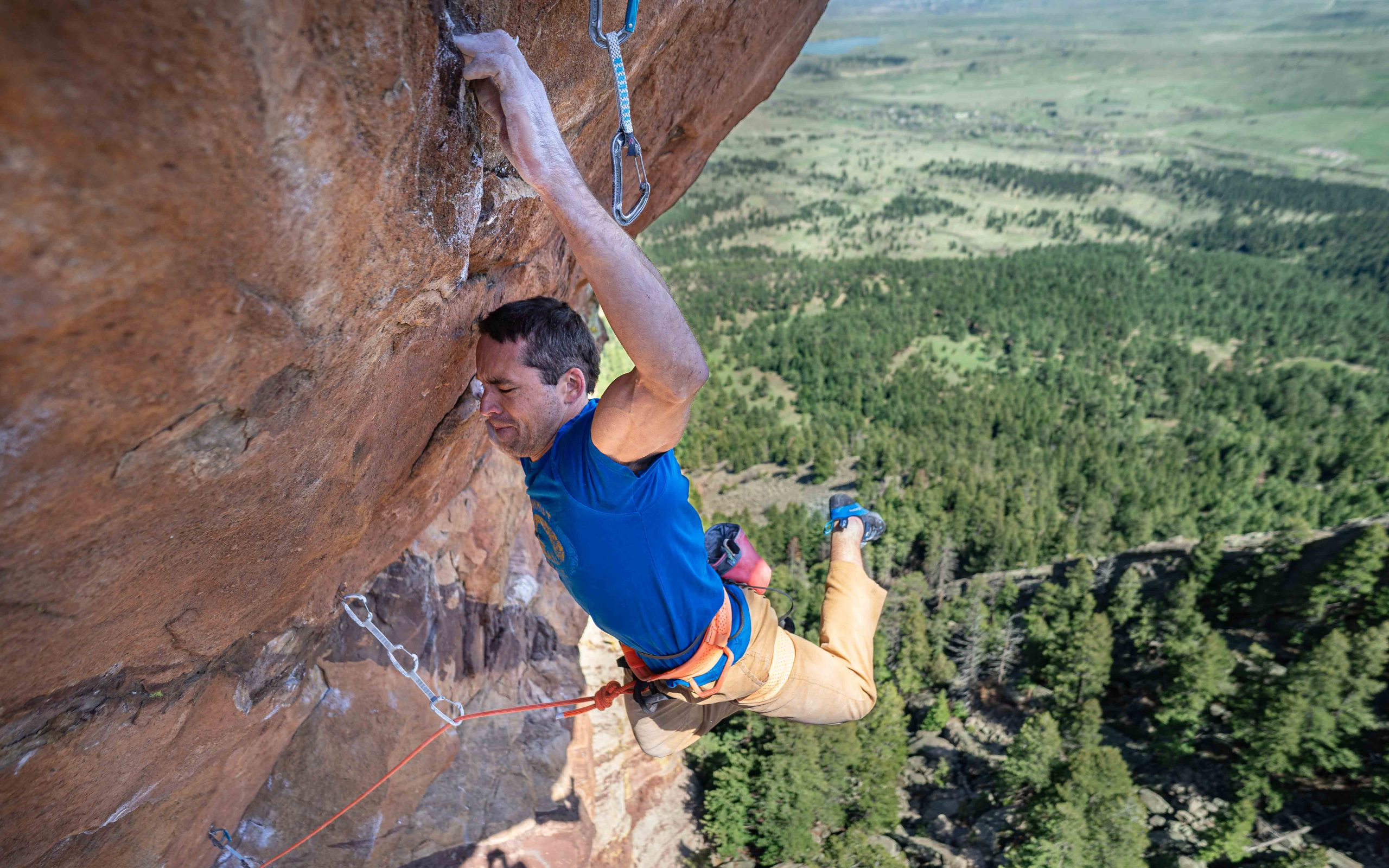 Vasya Vortnikov on Made In Time, the hardest route in the Flatiirons, Colorado