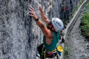 Blind Climber Javier Aguilar Sends 5.12d!