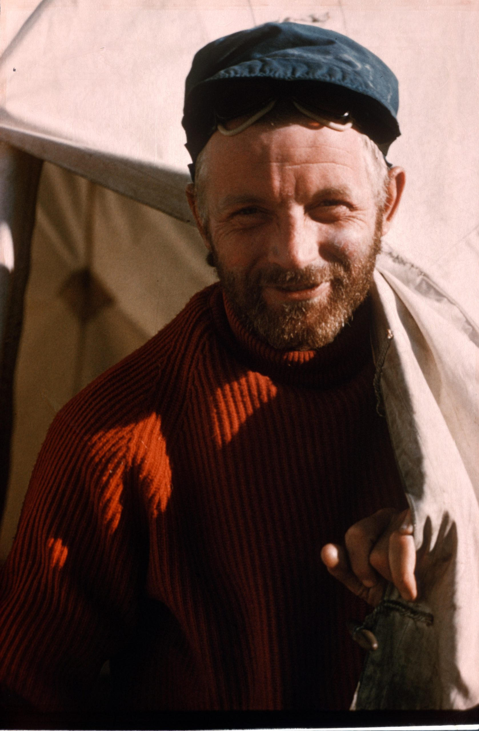 Charles Evans, who led the 1955 Kanchenjunga expedition.