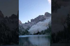 Sawtooth Mountains Earthquake -