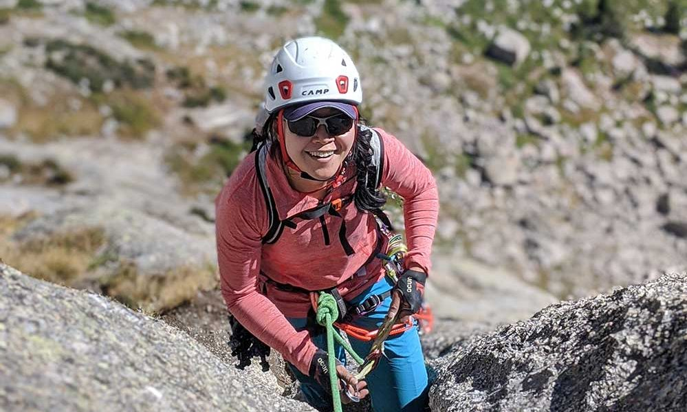 janette heung in the wind river range. She died after a freak anchor failure