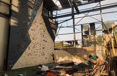 Beirut Community Fights to Keep Climbing After Explosion