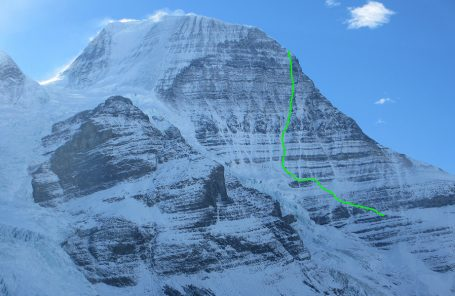 New Route on Mt. Robson's Emperor Face by Uisdean Hawthorn and Ethan Berman
