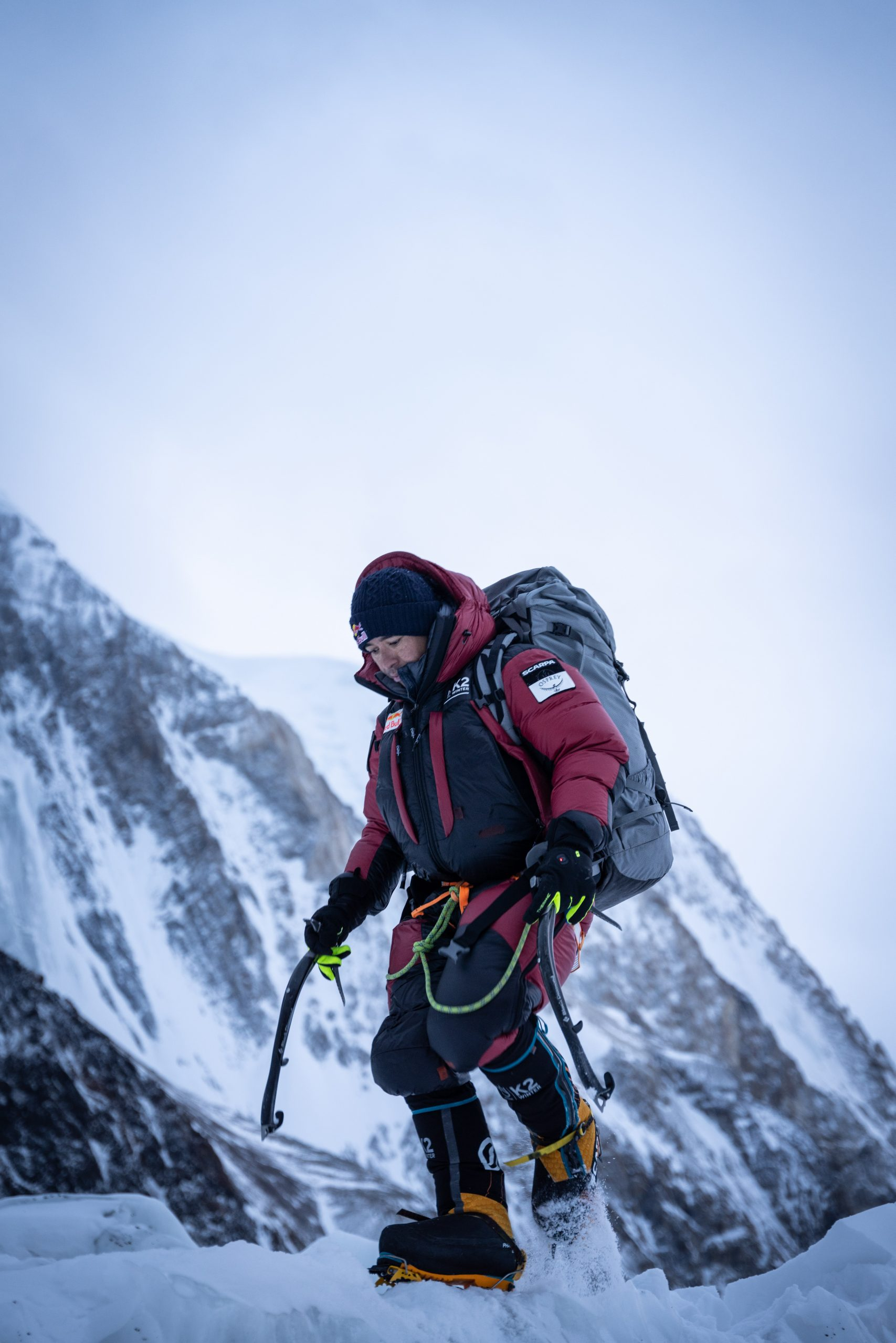 Nims Purja before his winter attack on K2 on January 5, 2021. Photo: Nimsdai / Red Bull Content Pool.