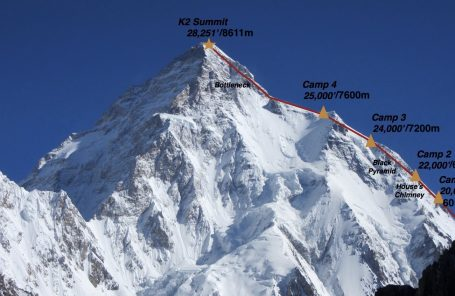 Alan Arnette: Winter K2 Update   Camp 2 Destroyed. Expeditions in Jeopardy