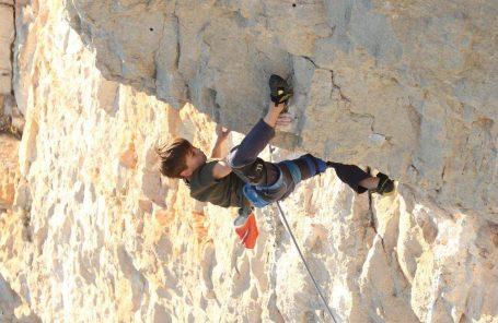 11-Year-Old Théo Blass Climbs His Second 5.14b