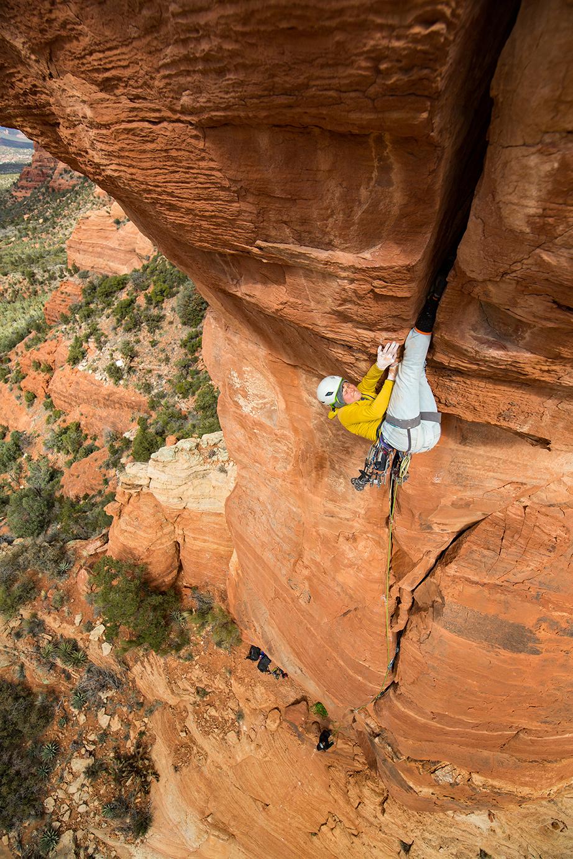 Lor Sabourin on an invert project in Sedona, Arizona. Photo: Irene Yee.