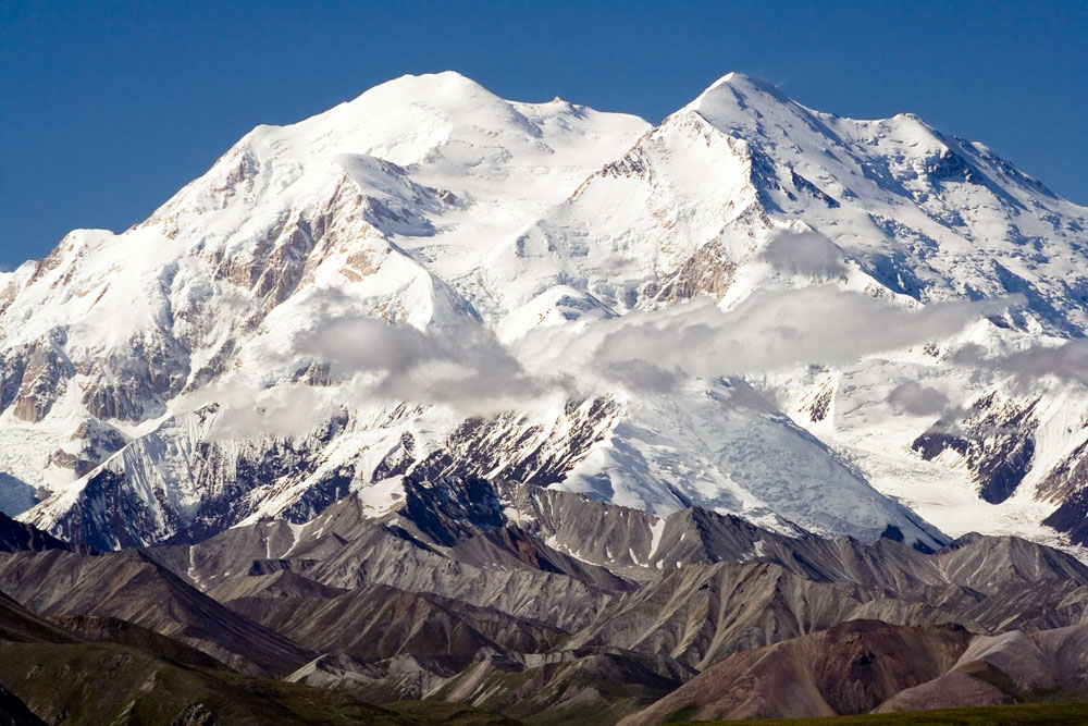Denali (20,310 feet), Alaska. Photo: Nic McPhee (<a target=