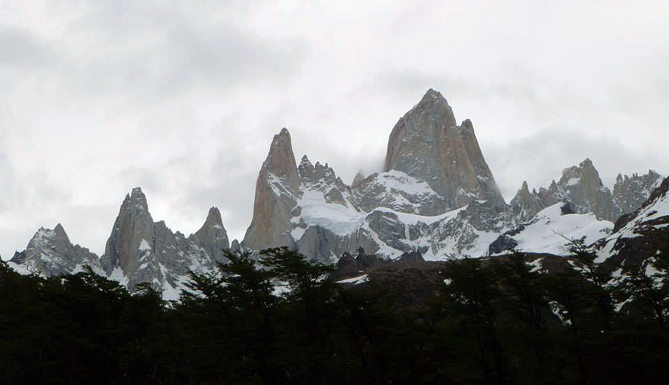 The Fitz Roy massif