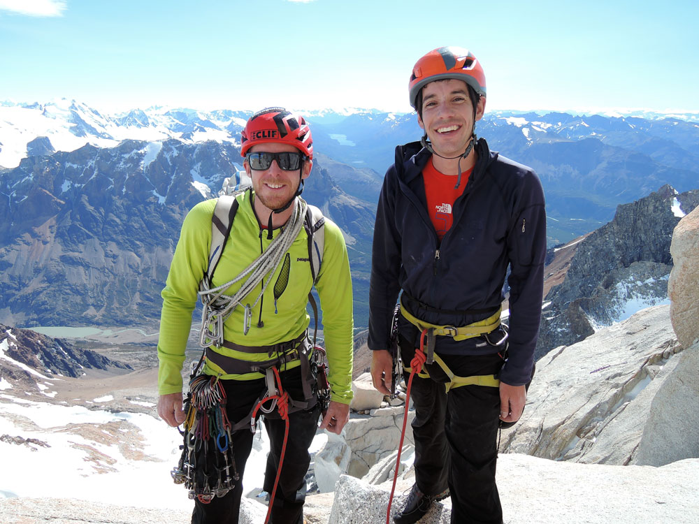 Tommy Caldwell and Alex Honnold on the