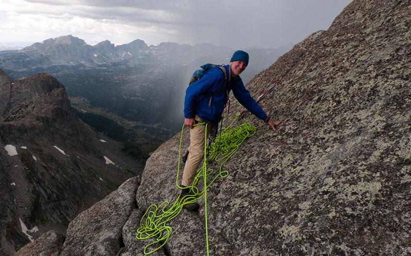 Randy Udall, a lifelong mountain person and energy analyst,  fought to conserve and preserve. Photos by Weston Boyles