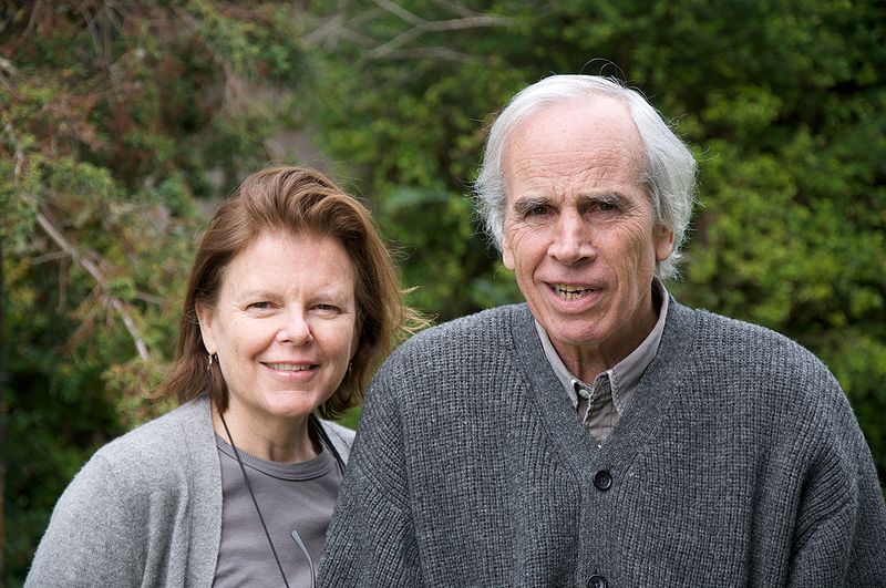 Douglas Tompkins and wife Kris. Photo: Sam Beebe / Wikimedia Commons.