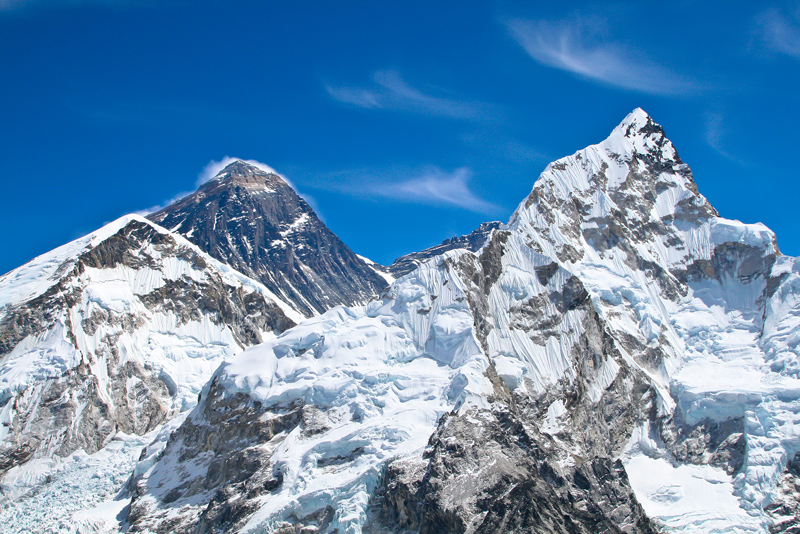 Mount Everest, site of record-high rescue