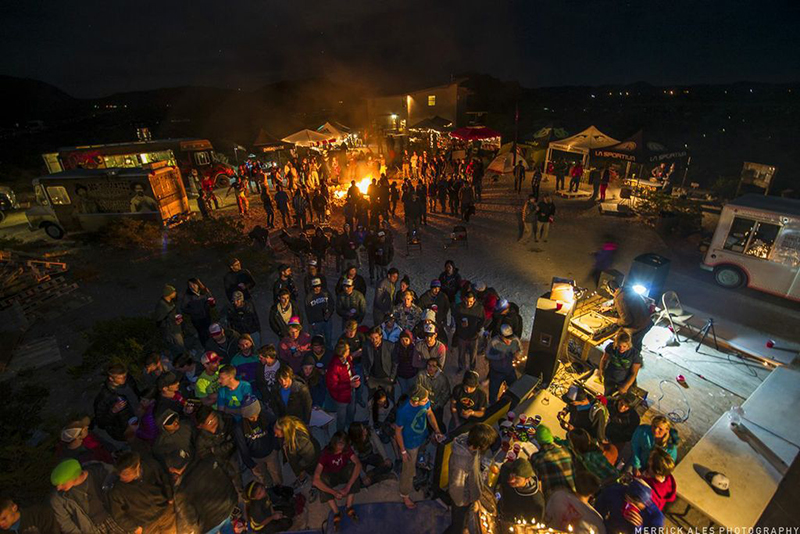 The 21st Annual Hueco Rock Rodeo party.