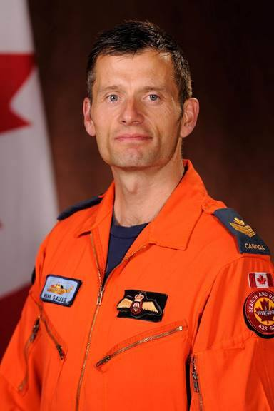 Sgt. Mark Salesse. Photo: Royal Canadian Air Force.