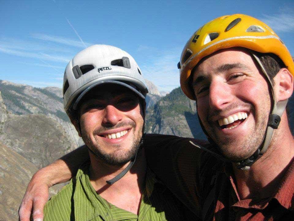Zach Summit and (right) Eitan Green. Photo by Zach Summit.