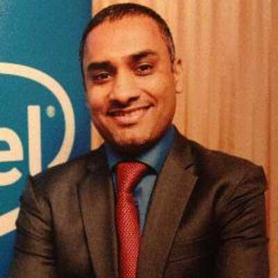 Uday Marty, Intel photo.
