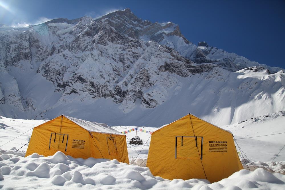 Annapurna Base Camp. Photo: Mingma Sherpa.