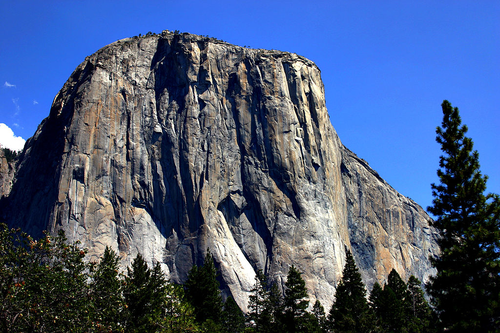 El Cap, Yosemite. Photo Mike Murphy.