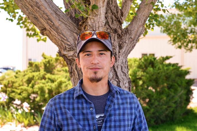 Aaron Mike, the Native Lands Coordinator for the Access Fund. Photo: Seth Heller.