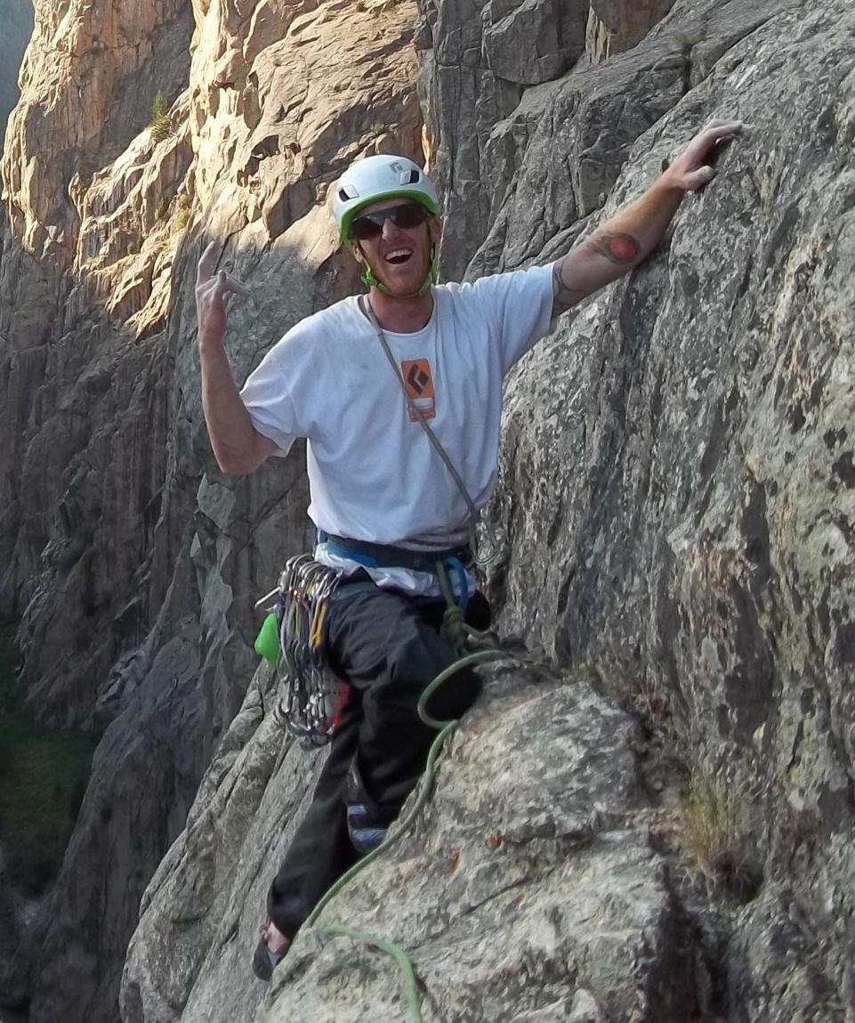 Kevin Volkening. Photo courtesy of Black Diamond.