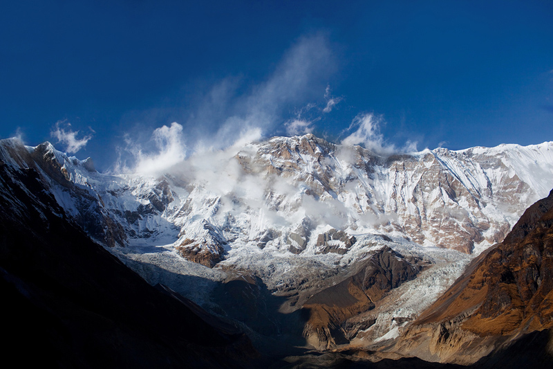 The South Face of Annapurna I.