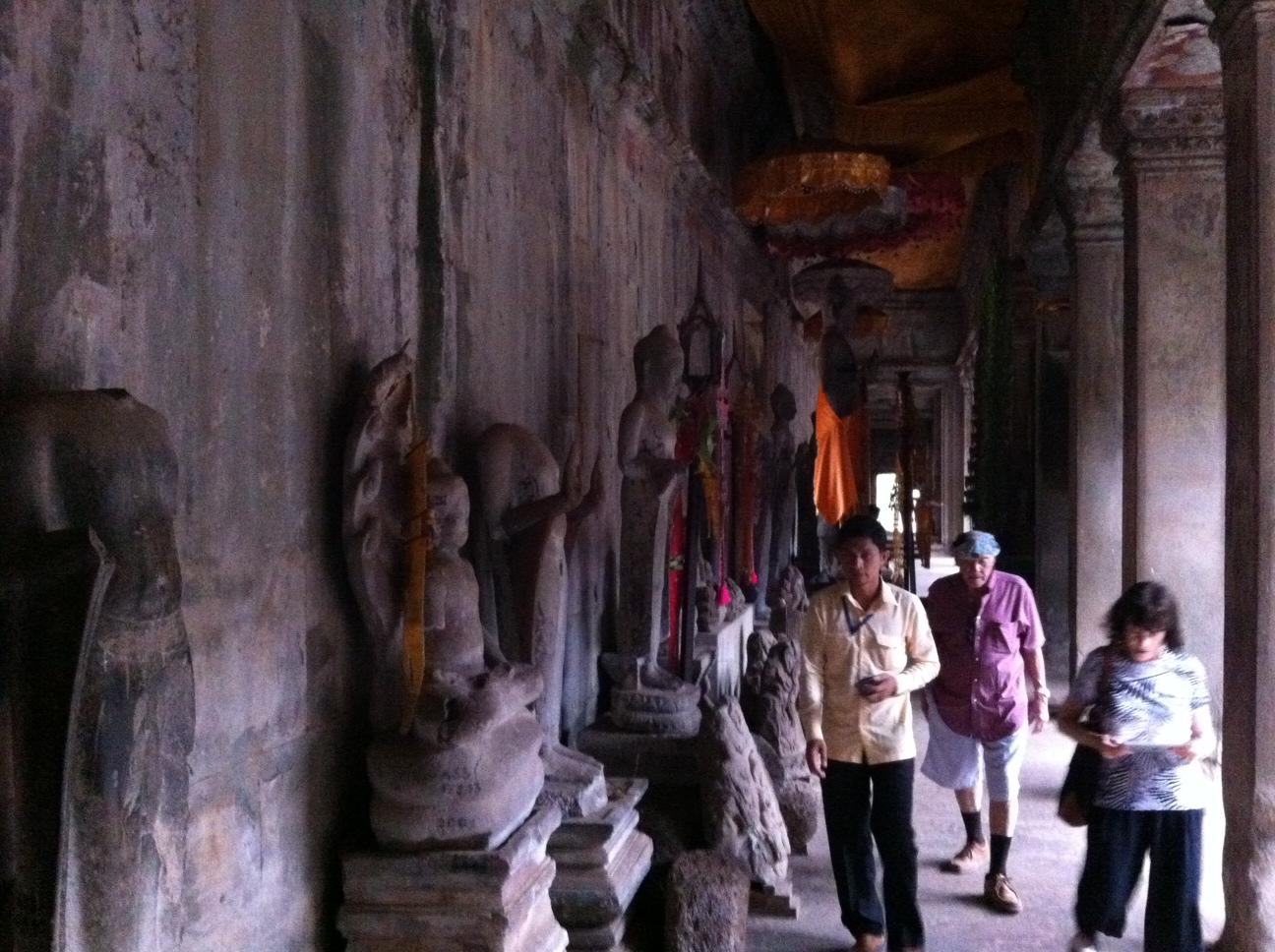 Hall of a Thousand Buddhas.