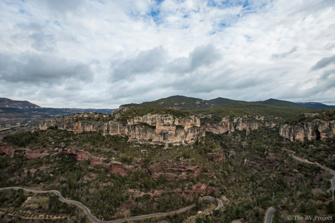 El Pati sector of the Siurana, Spain.