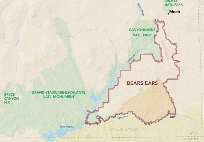 Bears Ears proposed conservation area. Photo: Defined by the Line / Patagonia. CLICK TO ZOOM