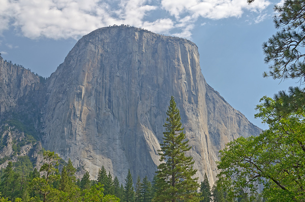 Yosemite National Park's El Capitan, scene of the May 27 rappelling accident.
