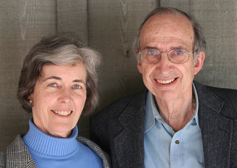 Betsy and Nick Clinch, co authors. Photo courtesy Mountaineers Books.