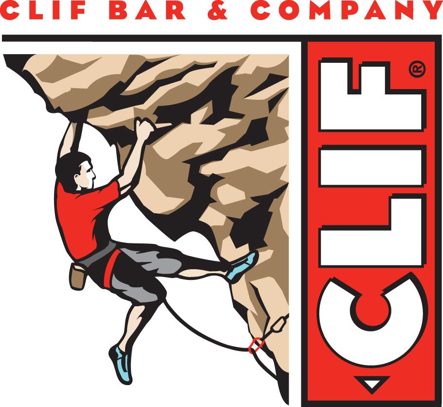 Clif Bar's roped-climber logo.