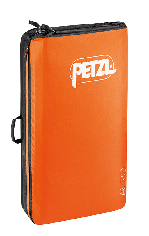 The new Petzl crash pad comes in three sizes, the Alto, Cirro and Nimbo.